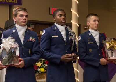 Jefferson High School AFJROTC Cadets