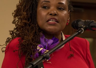 Rev. Cheryl Barnes, M Div / Presenter of Community Service Awards