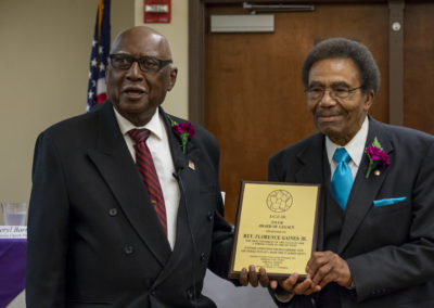 Rev. Flence Gaines Jr. - 1st JCCO President